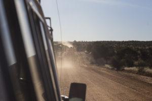 La strada per Hakos