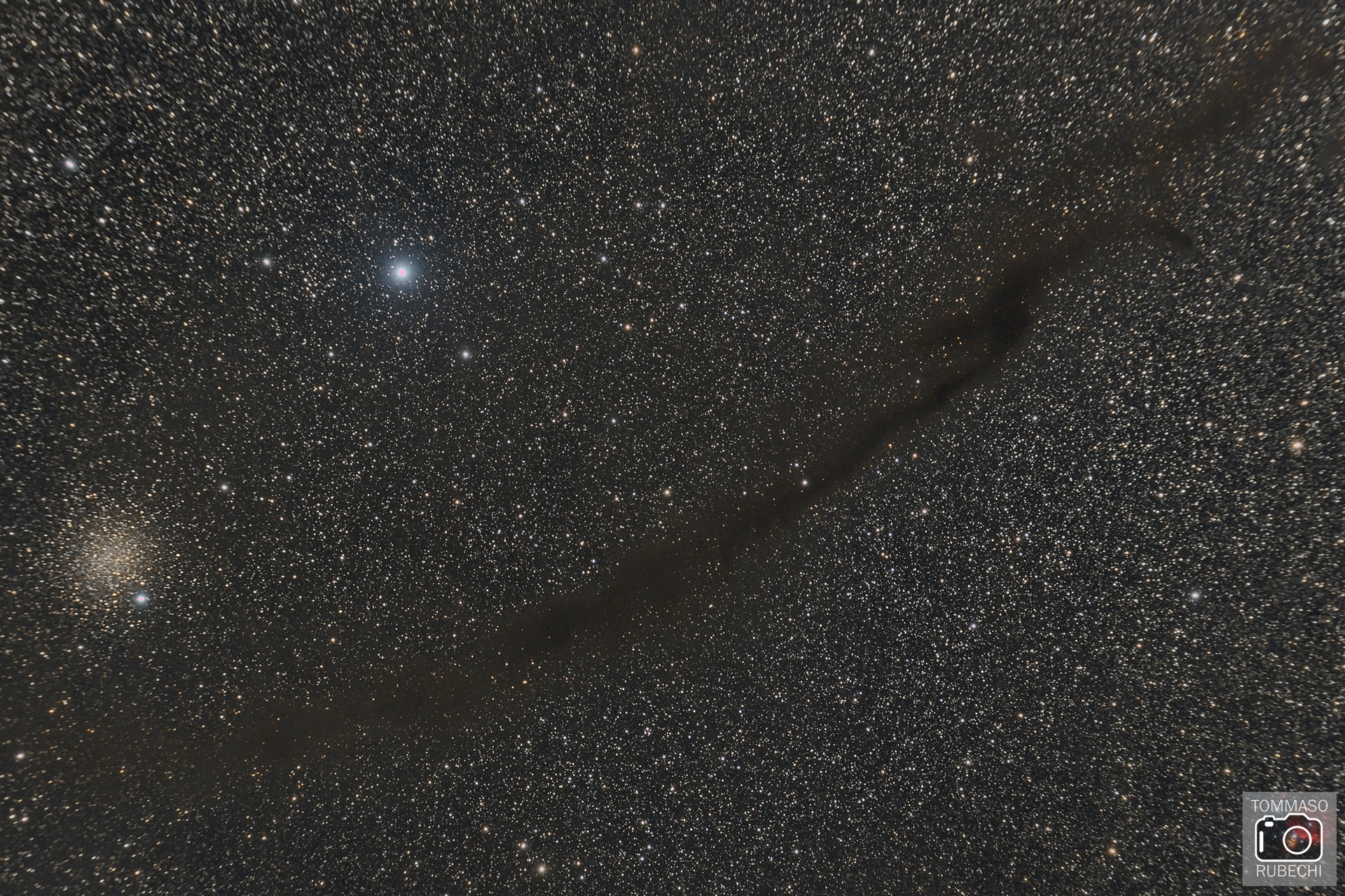 doodad nebula and NGC 4372