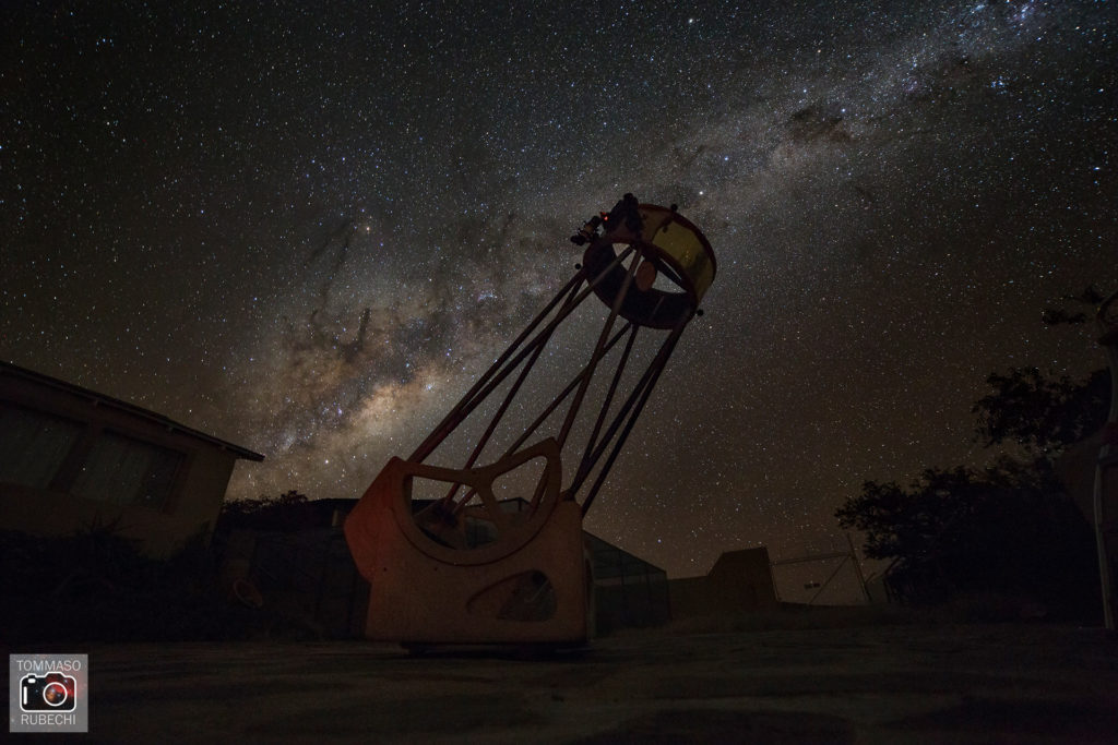 Milky way from Namibia